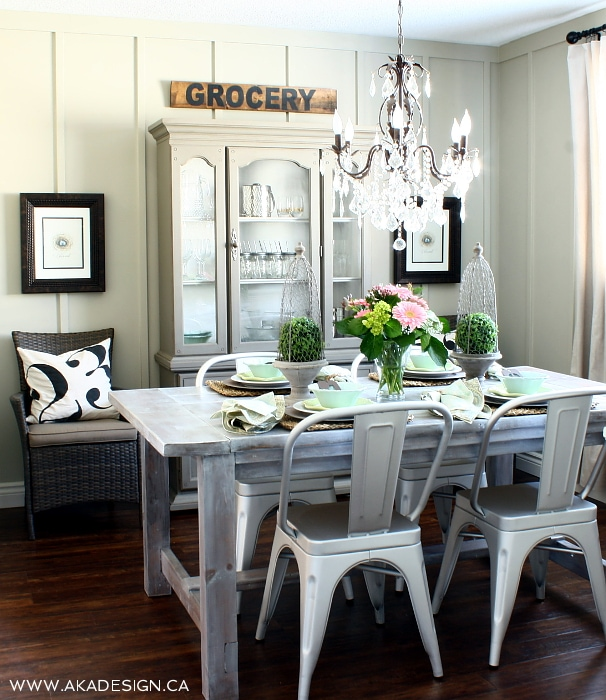 Cottage Style Dining Room: Favorite Things Friday : AKA Design